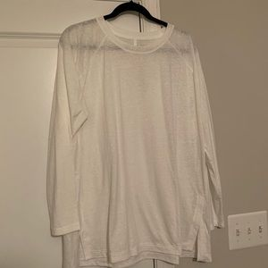 Lou And Grey white tunic size XL LOFT